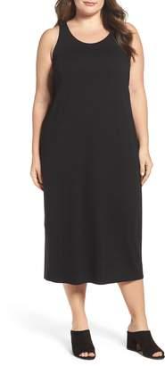Eileen Fisher Jersey Midi Dress
