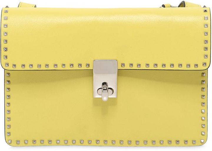 Mini Micro Studded Leather Shoulder Bag
