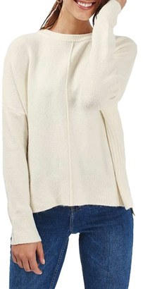 Topshop Zip Side Sweater $75 thestylecure.com