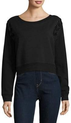 Calvin Klein Jeans Military Lace Sweater