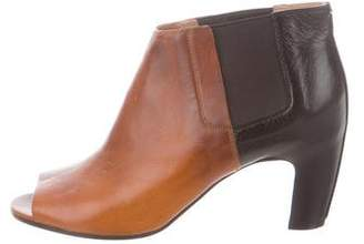 Maison Margiela Peep-Toe Ankle Booties