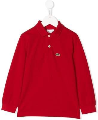 Lacoste Kids long sleeve polo shirt