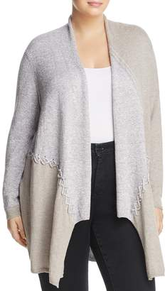 Nic+Zoe Plus Side Stitch Color Block Cardigan