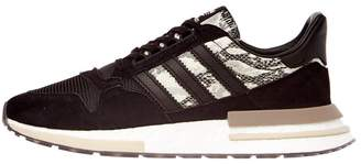 ZX 500 RM Trainers - Black/White