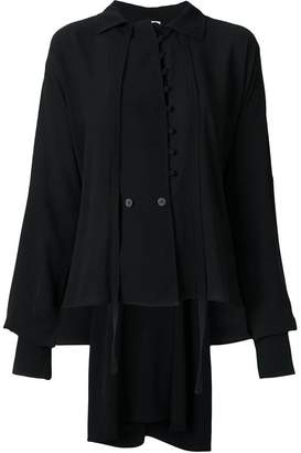 Loewe front button placket blouse