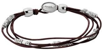 Fossil Multi-Strand Wrist Wrap hocolate Bracelets