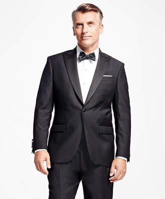 Brooks Brothers One-Button Peak Lapel Tuxedo Jacket