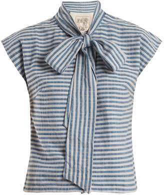 Ace&Jig Page striped cotton top