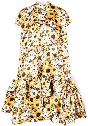 Sunflower Gown Dress