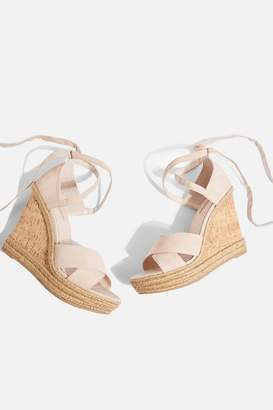Topshop Winona Cross Strap Wedges
