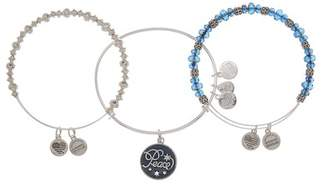 Alex and Ani Peace Beaded Expandable Wire Bracelet Set
