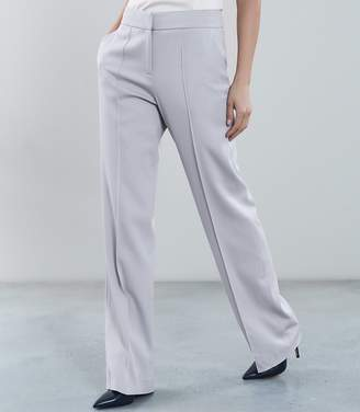 Reiss Cloud Trouser Wide Leg Tailored Trousers