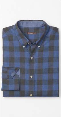 J.Mclaughlin Carnegie Classic Fit Flannel Shirt in Buffalo Check