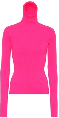 Balenciaga Neon turtleneck sweater