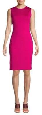 St. John Milano Sleeveless Sheath Dress