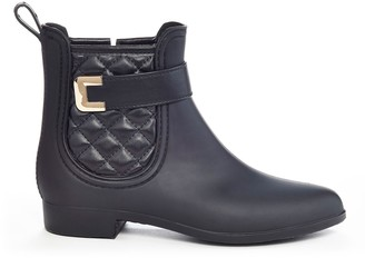 Henry Ferrera Clarity Sky Women's Water-Resistant Quilted Rain Boots