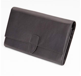 Royce Leather Royce Luxury Travel Passport Document and Currency Organizer in Genuine Leather