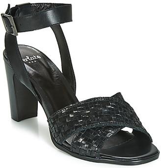 Perlato DOMINIKA women's Sandals in Black