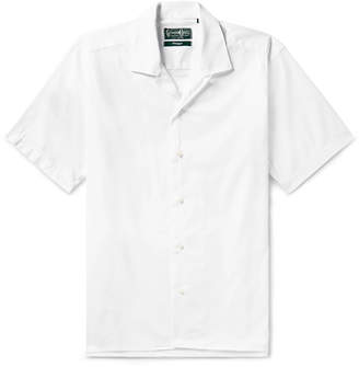 Gitman Brothers Camp-Collar Cotton Oxford Shirt