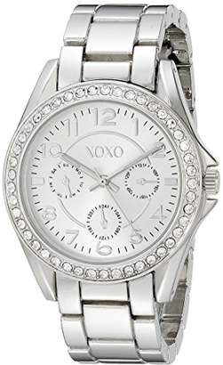 XOXO Women's Analog Watch with -Tone Case