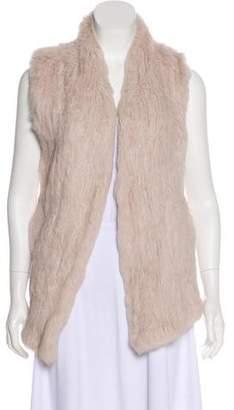 June Long Fur Vest