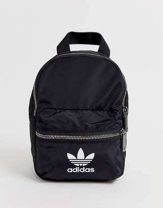 adidas trefoil logo mini backpack