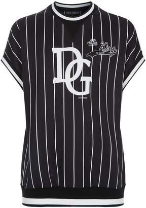 Dolce & Gabbana Baseball Stripe T-Shirt