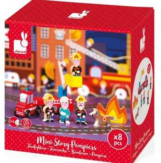 Janod Wooden Mini Story Firefighters
