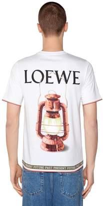Loewe Printed Cotton T-Shirt
