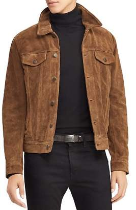 Polo Ralph Lauren Roughout Suede Trucker Jacket