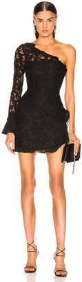 Alexis Tansy Dress in Black Lace | FWRD
