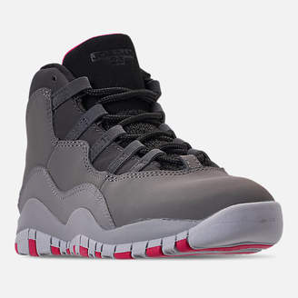 3bf211eedcb Nike Girls  Little Kids  Jordan Retro 10 Basketball Shoes