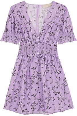 Keepsake Secure Floral-print Mini Dress