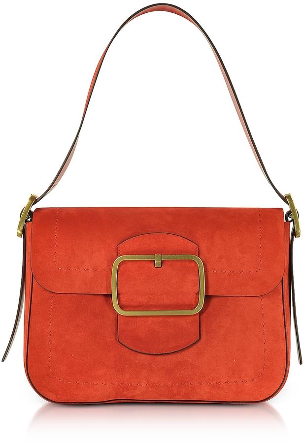 Tory BurchTory Burch Runway Red Suede Shoulder Bag
