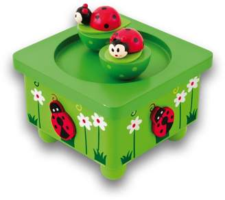 Ulysse Ladybug Leaf Music Box