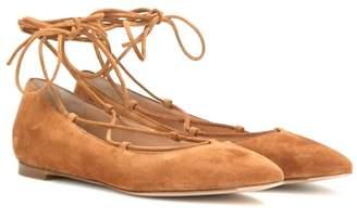 Gianvito Rossi Suede ballerinas