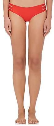 Mikoh Women's Velzyland Bikini Bottom - Freedom Red