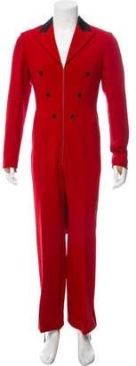 Gucci 2017 ACDC Wool Blend Jumpsuit w/ Tags