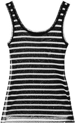 Fuzzi striped tank top