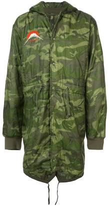 MHI padded camo jacket