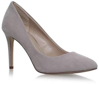 Carvela Grey Aimee High Heel Court Shoes