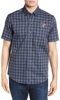 Cutter & Buck Houston Texans - Fremont Regular Fit Check Sport Shirt