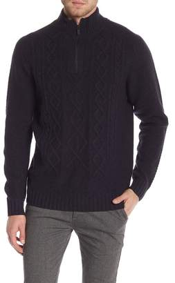 RODD AND GUNN Gunn Wool Long Sleeve Partial Zip Pullover