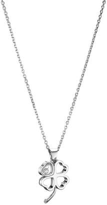 Chopard White Gold Happy Diamond Good Luck Charms Pendant
