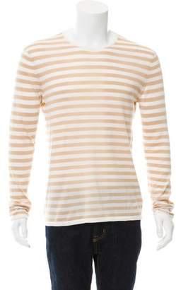 TSE Striped Crew Neck Sweater