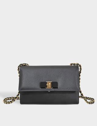 Salvatore Ferragamo Black Flap Closure Bags For Women - ShopStyle UK 3ea17da1598c0