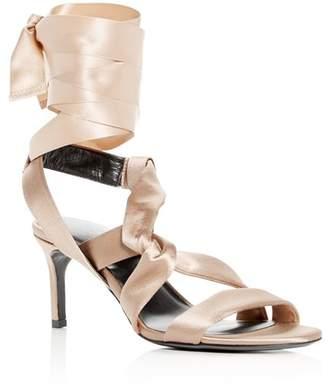 Via Spiga Women's Jett Ankle Tie High-Heel Sandals