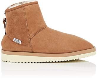 Suicoke Women's Sherpa-Lined Suede Ankle Boots