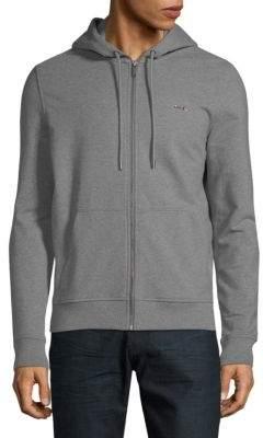 Michael Kors Hooded Stretch Fleece Jacket