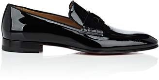 Christian Louboutin Men's Magicien Patent Leather Venetian Loafers